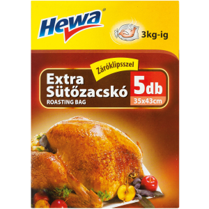 HEWA EXTRA SÜTŐZACSKÓ 35X45CM 5DB