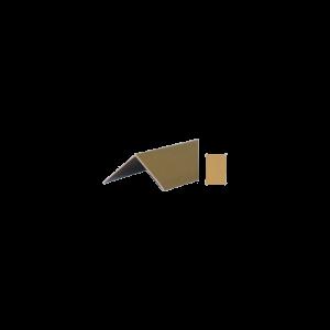 SAROKPROFIL PASZTELL BEIGE 30X30MM
