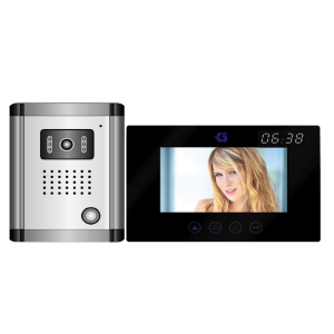 VIDEO KAPUTELEFON 7˝, LCD, BEÉPÍTETT DIGITÁLIS ÓRA Outlet