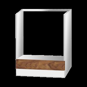 KONYHAELEM AJTÓ 60X14X1,6CM BEÉP. SÜTŐHÖZ 3D DIÓ EASY BOX (314586) Outlet