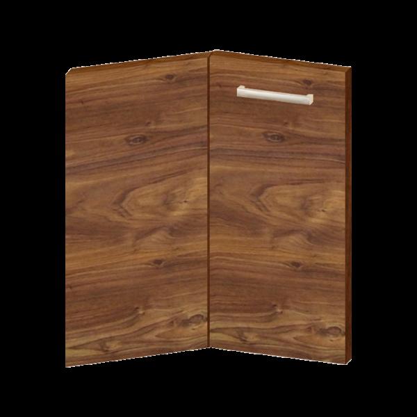 KONYHAELEM AJTÓ 34,4/32,8X71,3X1,6 SAROK 3D DIÓ EASY BOX (314576) Outlet