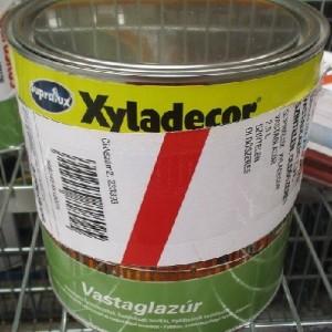 SUPRALUX XYLADECOR VASTAGLAZÚR 2,5 L, SZÍNTELEN, OLDÓSZERES Outlet