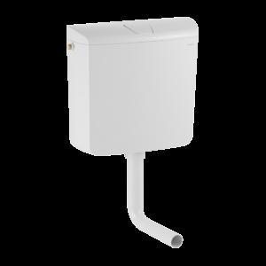 GEBERIT WC-TARTÁLY AP110, 6/9L 41X38,7X13,5CM,ALACSONY SZ.(208965) Outlet