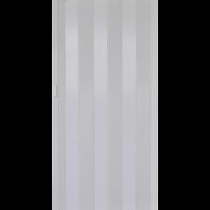 HARMONIKAAJTÓ PVC FEHÉR KŐRIS 203X82X0,6CM Outlet