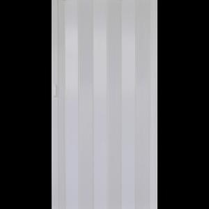 HARMONIKAAJTÓ PVC FEHÉR KŐRIS 203X82X0,6CM (311219) Outlet