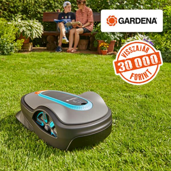 Gardena robotfűnyírók
