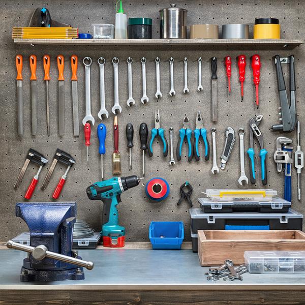 Szerszám, gép, műhely