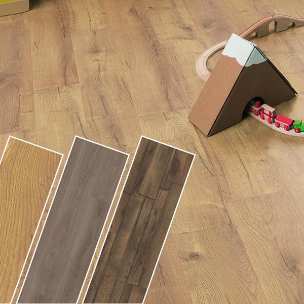 Levittünk egyes 8 mm-es HOME laminált padlóink árából