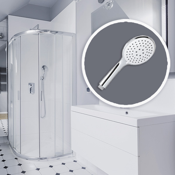 Víztakarékos megoldások többfunkciós zuhanyfejekkel